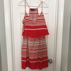 Guess Striped Spaghetti Strap Dress